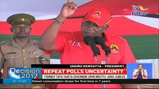Uhuru's final warning to Raila - VIDEO