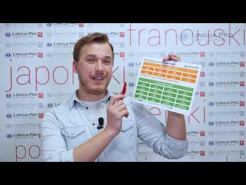 Kadr z filmu na youtube - CZASOWNIKI ZŁOŻONE
