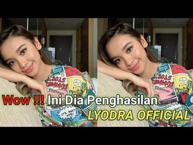 Wow Intip Penghasilan Lyodra Official Dari 2020