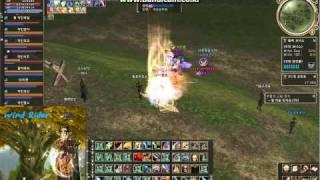 리니지2[lineage2] 악인연합 2011-01-07 새벽교전모음