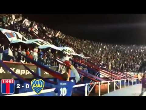 """""""La Barra del Matador Vs. Boca Juniors 2016"""" Barra: La Barra Del Matador • Club: Tigre"""