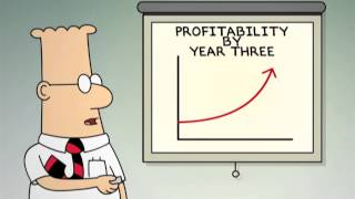 Dilbert: The Business Plan of Profitability