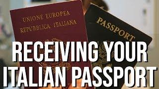 Receiving Your Italian Passport - THE FINAL VIDEO