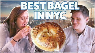 We Found The Best Bagel In New York City • Quest For The Best