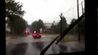 preview picture of video 'disparando de un tornado en crespo entre rios'
