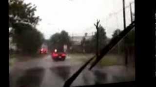 preview picture of video 'disparando de un tornado en crespo entre rios'
