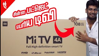 Mi TV 4A 43 Inch in Tamil Today Tech