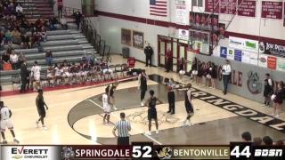 SHS Basketball   vs Bentonville