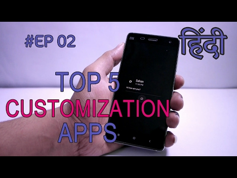 Top 5 Best Android Customization Apps No Root #EP 2 Hindi
