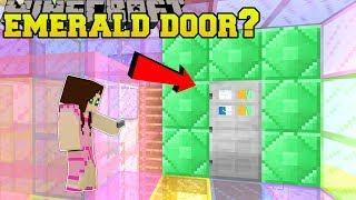 Minecraft: CAN WE OPEN THE SECRET EMERALD DOOR?!? - RAINBOW SPHERES - Custom Map