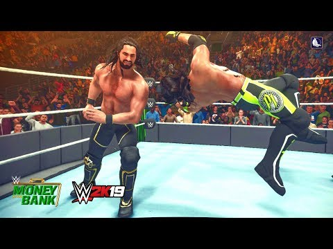 WWE 2K19 Money In The Bank 2019 - Seth Rollins vs. AJ Styles | Epic Match Highlights