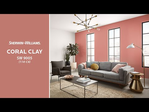 Sherwin-Williams: цвет месяца Июнь 2020 — SW 9005 Coral Clay