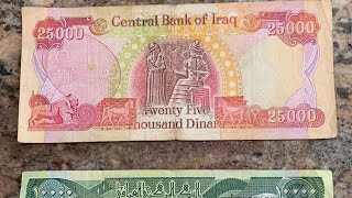 Iraqi Dinar| Exchange rate| Today.
