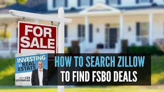 How To Search Zillow To Find For Sale By Owner Deals
