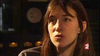 Charlotte Gainsbourg - IRM long interview on france2.fr - part 1/2