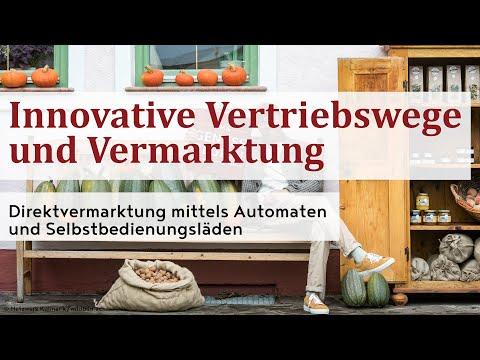 Direktvermarktung mittels Automaten und Selbstbedienungsläden