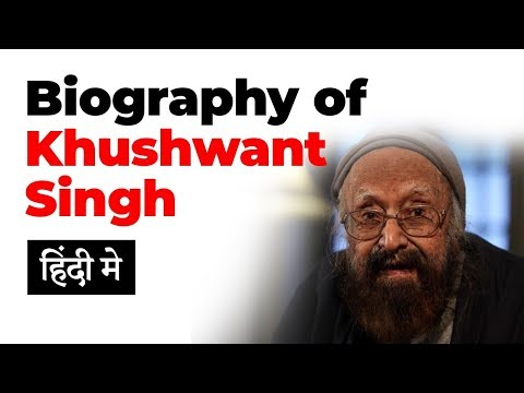 Biography of Khushwant Singh, India's best known writer and founder editor of Yojana Magazine