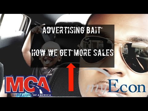 Advertsting Bait -How To Get More Sign Ups In myEcon and MCA