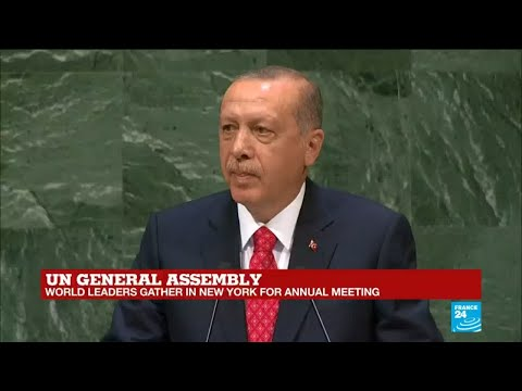 UN General Assembly: Watch Turkish president Erdogan's full address