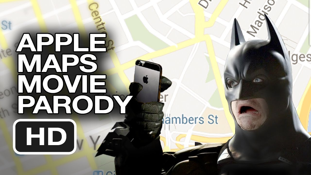 What If Batman Used Apple Maps?