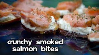 Crunchy Smoked Salmon Bites