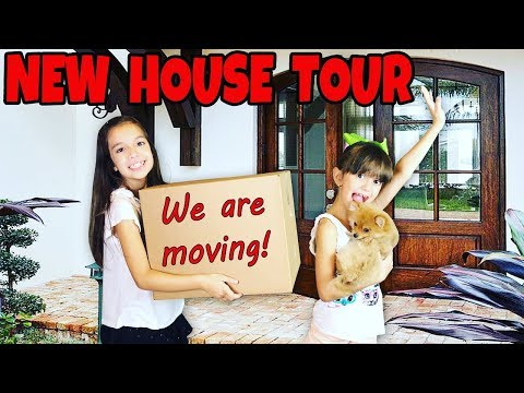 NEW HOUSE TOUR - We are Moving!