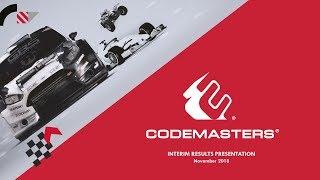 codemasters-cdm-h1-results-presentation-november-2018-28-11-2018