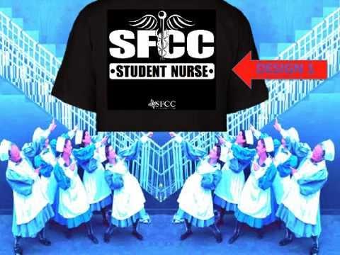 Student Nurses Club of Santa Fe Community College T-shirt Promo