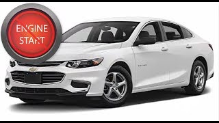 Chevrolet Malibu with a dead key fob: Get in and start push button start models.