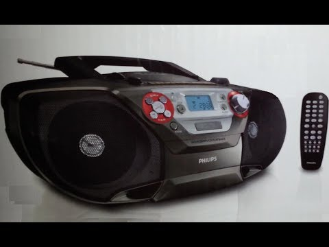 PHILIPS Soundmachine AZ5740 (CD-DVD-MP3-Radio-Casete) (Unboxing) - YouTube