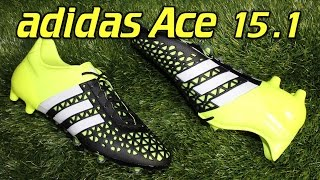 Adidas ACE 15.1 Black/Solar Yellow - Review + On Feet