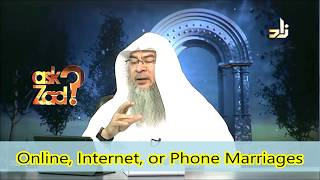 Getting married on the Internet via Video or Phone Call etc Assim al hakeem Video