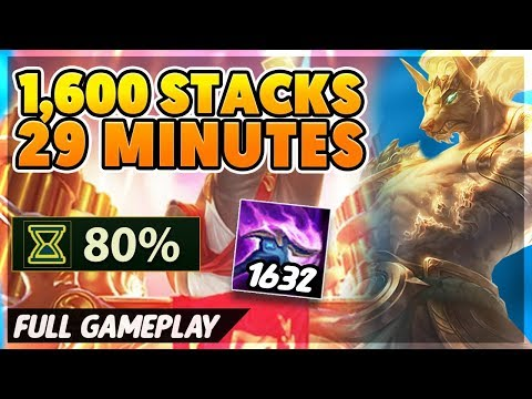 FASTEST 1,600 STACKS EVER (NEW RECORD) - BunnyFuFuu Full Gameplay