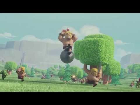 Clash Of Clans - Fight The Barbarian