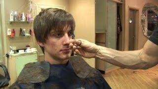 Mens Hairstyle For Medium Hair, How To Cut Hair In Layers ✂ Short Choppy Haircut Tutorial