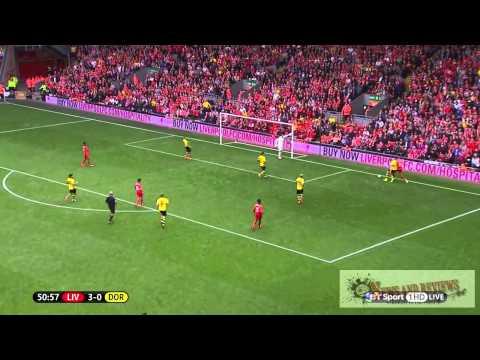 Javi Manquillo vs Dortmund Liverpool Debut
