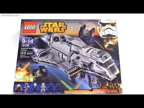 Vidéo LEGO Star Wars 75106 : Le transporteur d'assaut impérial