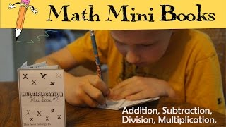 Math Mini Books
