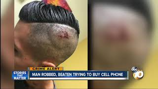 Man trying to buy phone via OfferUp app beaten, robbed by sellers