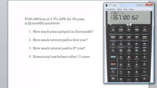 use financial calculator to calculate amortization of long term bond