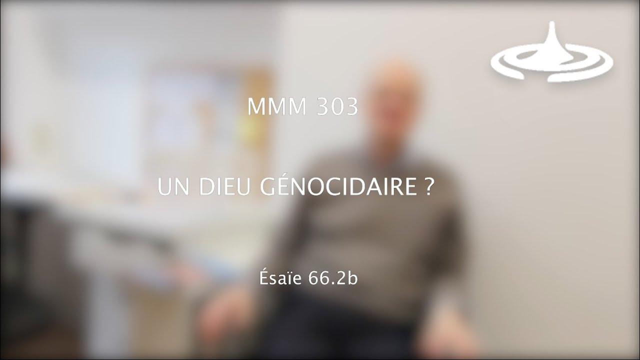 Un Dieu «génocidaire» ? (Es 66.2b)