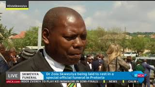 eNCA speaks to Zweli Mkhize on Zola Skweyiya