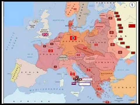 מהלך מלחמת העולם השנייה ב-5 דקות!