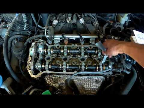 SUZUKI SX4 Ремонт двигателя и регулировка клапанов
