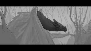 Illustration Dragon & Mage