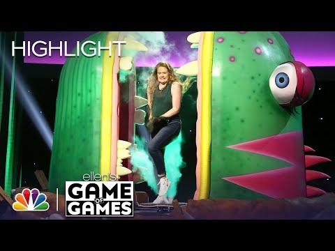 Ellen's Game of Games - One-Eyed Monster: Episode 2 (Highlight)