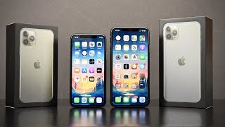Apple iPhone 11 Pro vs Apple iPhone 11 Pro Max: Unboxing & Review