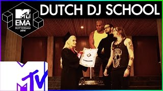 Gambar cover Bebe Rexha's Dutch DJ Training Sketch | 2016 MTV EMA | MTV Music