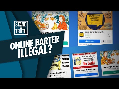 [GMA]  Stand for Truth: Online barter trade, illegal?