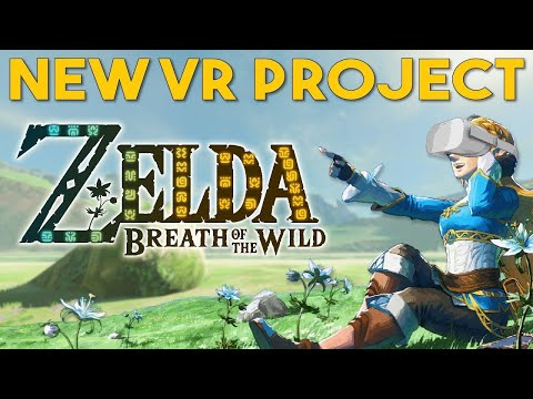 Concept video demonstrates Breath of the Wild in virtual reality